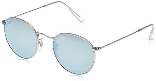 Ray-ban rb 3447 occhiali da sole, argento (silver), 50 mm unisex-adulto