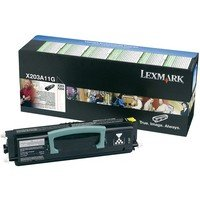 Lexmark X203 A11G - Lexmark X203 X204 Black Toner return Cartridge