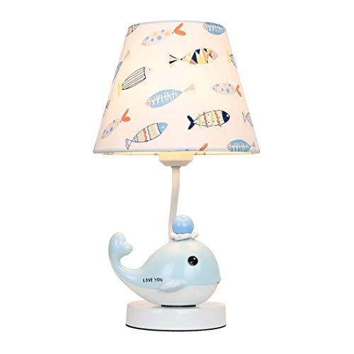 Cute Cartoon Whale Tischlampe Kinder Schlafzimmer Nachttischlampe Mode Warme Romantische Junge Mädchen Dekorative Lampen