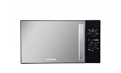 Brandt SM2606B Comptoir 26L 1450W Noir, Miroir micro-onde - Micro-ondes (Comptoir, 26 L, 1450 W, Rotatif, Noir, Miroir, 3,2 cm)