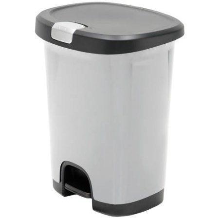 hefty-7-gal-textured-step-on-trash-can-with-lid-lock-and-bottom-cap-stainless-steel-by-hefty