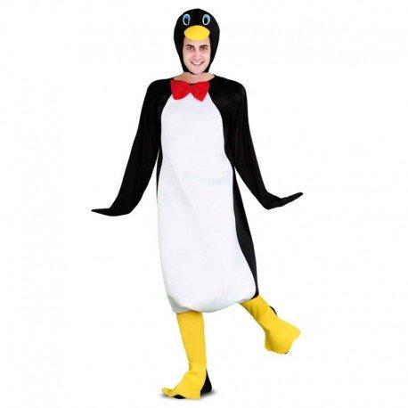 Imagen de disfraz de pingüino adulto
