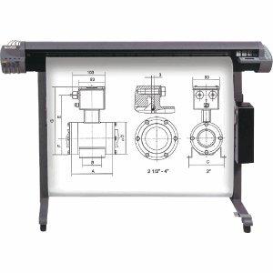 """""""Heipa InkJet CAD Plotter-Papiere/F725959 61,0cm x 50m x 2"""""""" weiß 80 g/qm"""""""