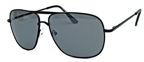 Old School Brille 80er Jahre Brillengestell Square Aviator Herren Sonnenbrille oder Nerdbrille mit...