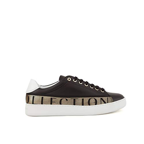 Versace Collection Herren-Sneakers V900745 VM00470VA90H Schwarz EI130V900745-VM00470VA90H, Schwarz - Schwarz - Größe: 44 EU