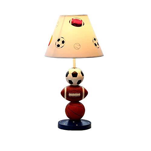 Nordic LED Tischlampen, Harz lackiert Leinen Beleuchtung Kindertischlampe Moderne Persönlichkeit Wohnzimmer Studie Schlafzimmer Schreibtisch Licht Einfache Nachttischlampen, kreative junge Geschenke -