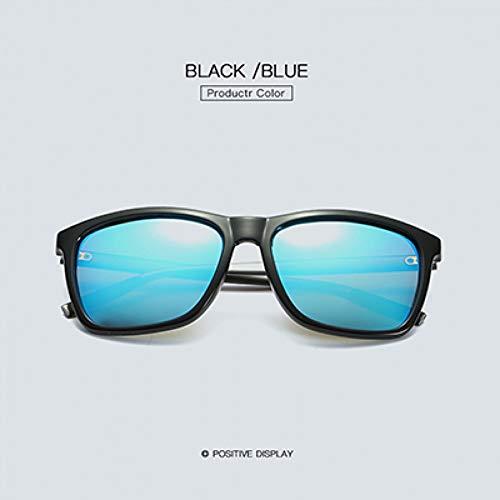 TJJQT Sonnenbrillen Sonnenbrille Mann Frau Guide Polarisierte Metall Sonnenbrille Herren Sonnenbrille