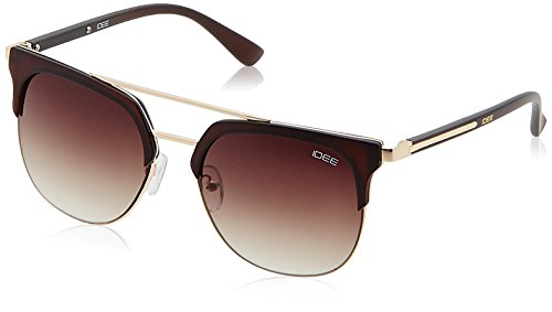 IDEE Gradient Square Women's Sunglasses - (IDS2159C2SG|53|Brown Gradient Color)