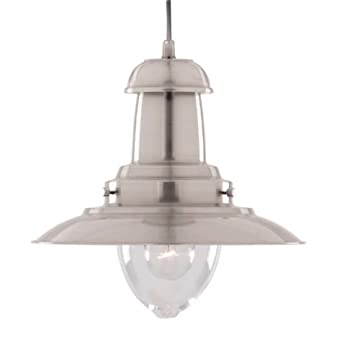 Searchlight fisherman nautical ceiling pendant 4301ss satin searchlight fisherman nautical ceiling pendant 4301ss satin silver searchlight amazon lighting aloadofball Image collections