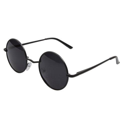 FSK -  Occhiali da sole  - Uomo Nero  Black frame Gray lens