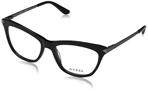 Guess Unisex-Erwachsene GU2655 005 53 Brillengestelle, Schwarz (Nero),