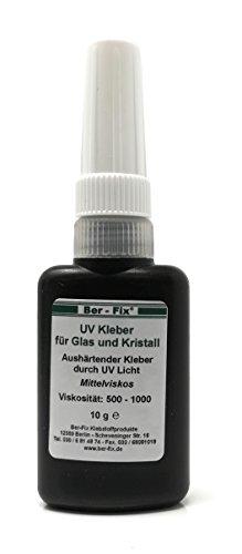 10g UV Kleber Gel | Glas mit Glas | Metall | Kunststoff | BerFix für jede Anwendung den richtigen Klebstoff