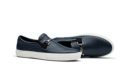 Chaussures Sneakers Basses Homme Taille 39-45 Bleu