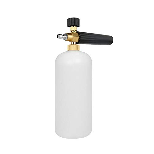Tragbare Hochdruck-Schaum-Spray Pot Auto Kanone Schnee Foam Lance Zubehör Car Wash Sprayer Seifen-Behälter für Auto - Seife Mischen Behälter
