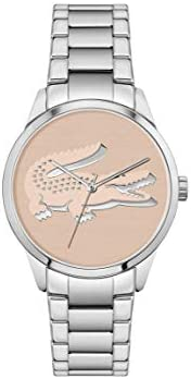Lacoste Women's Analog Quartz Watch with Stainless Steel Strap 200