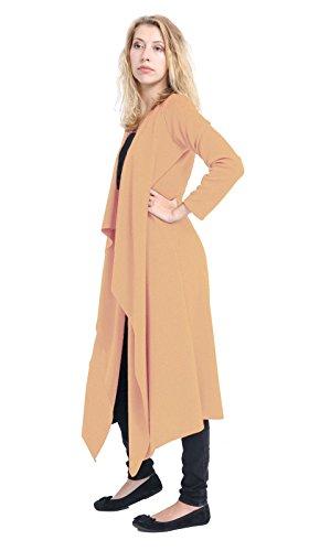 Momo&Ayat Fashions -  Cardigan  - Donna Camel