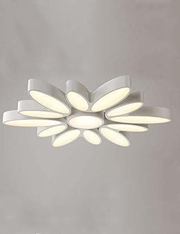 DIDIDD Deckenleuchte-moderne einfache LED-Mode kreative unregelmäßige Acryl-Deckenleuchte horizontale Wohnzimmer Studie Deckenleuchte (Form optional) --home warme Deckenleuchte,Versprechen Dimmen-6-K