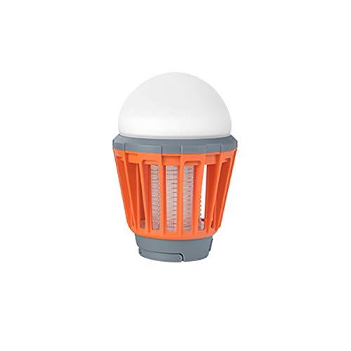 Moskito-Lampe SHUAKFDMosquito-Kontrollleuchten Moskito-Mörder-Lampe Moskito-Anti-Moskito-Lampe Camping-Lampe Usb-wiederaufladbare Moskito-Mörder-Lampe Mehrzweck-Plage-Flecken-wasserdichteOrange -