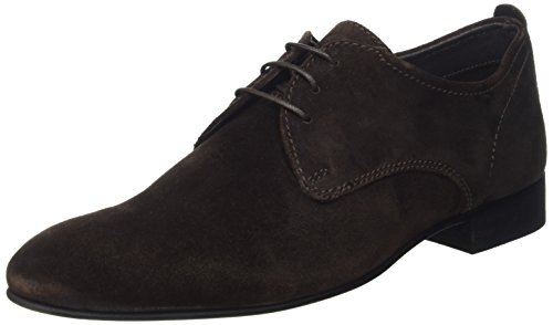 Base London Herren Business Schuhe mit Schnürung Braun (Brown)