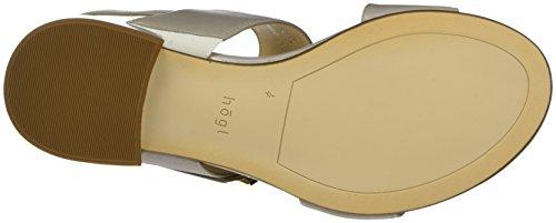 Högl Damen 3-10 1140 6800 Offene Sandalen mit Keilabsatz Grau (Stone6800)