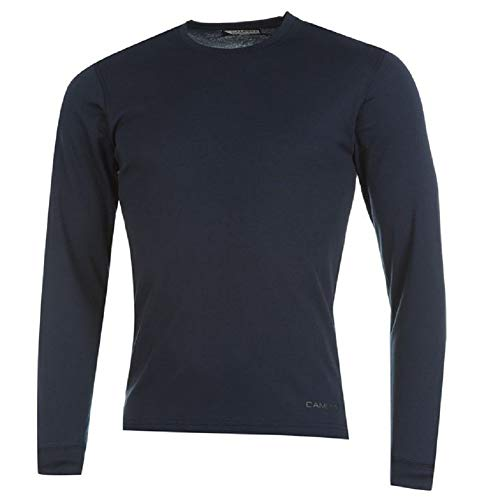 Campri sports - maglia termica da sci, unisex, marina militare, 11-12 yrs lb