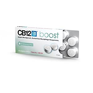 CB12 boost Kaugummi White 10 Stück