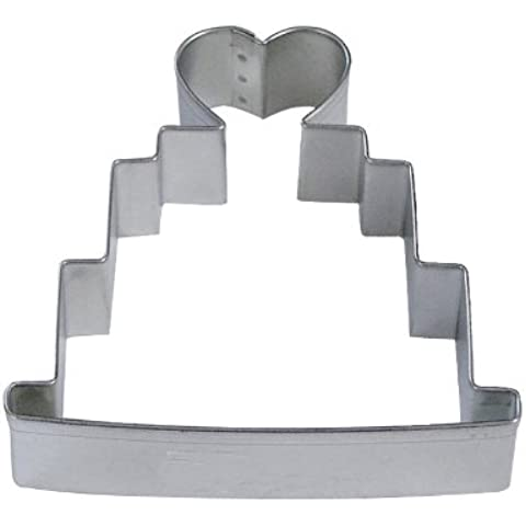 Wedding Cake Shaped 4 Inch Cookie Cutter