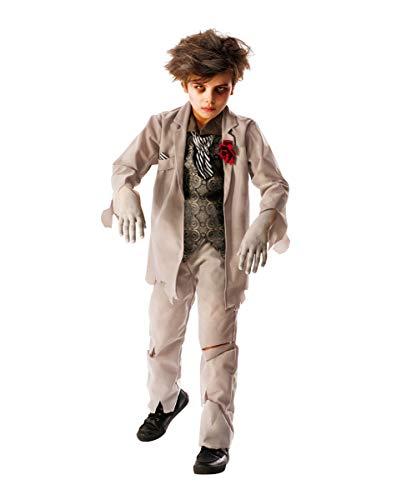 Horror-Shop Geister Bräutigam Kostüm für Kinder als Halloween Outfit L