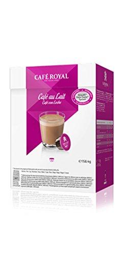 Preisvergleich Produktbild Café Royal Cafè au Lait, Kaffee, Kaffeekapsel Nescafé Dolce Gusto Kompatibel, 16 Kapseln