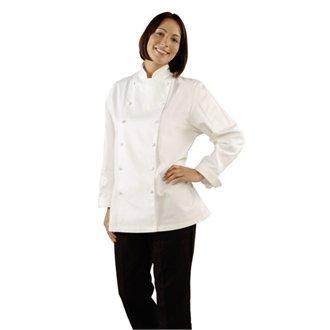 Whites Chefs Apparel B099-M Ladies Chefs Jacket, Medium