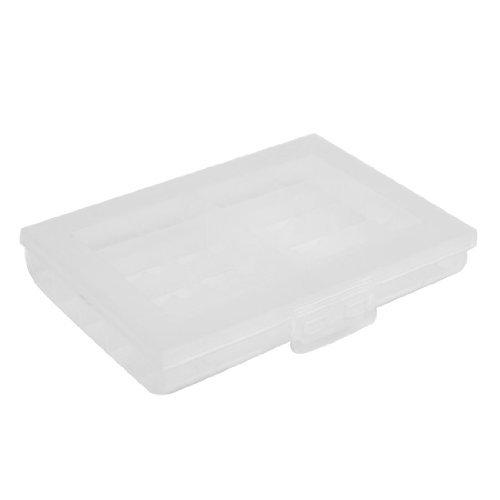 DealMux Clear White Plastic 30 Abschnitte für elektronische Komponenten Storage Box - Storage-komponenten