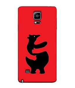 FUSON Designer Back Case Cover for Samsung Galaxy Note 4 :: Samsung Galaxy Note 4 N910G :: Samsung Galaxy Note 4 N910F N910K/N910L/N910S N910C N910Fd N910Fq N910H N910G N910U N910W8 (Keep Kaam Se Kaam Design)