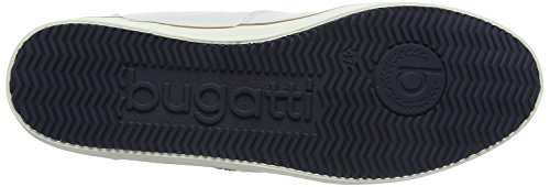 Bugatti Mens F48136 Sneaker Bianco (bianco)
