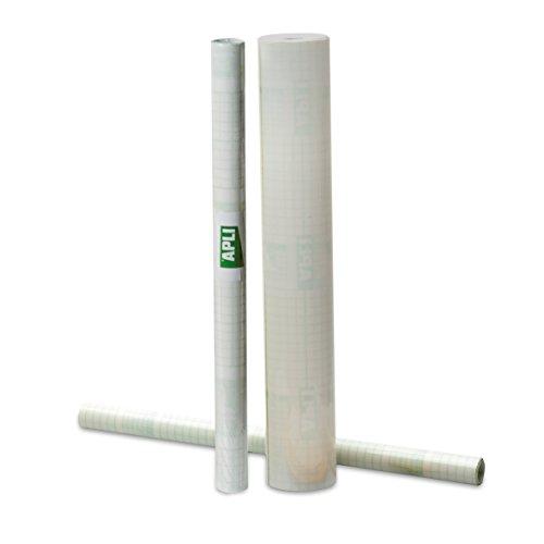 APLI - Rollo forro de libros adhesivo, 20,00 x 0,50 m