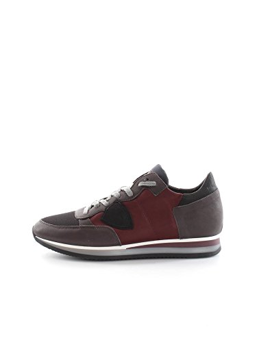 PHILIPPE MODEL PARIS TRLU WL49 WINE BLACK SNEAKERS Uomo WINE BLACK 42