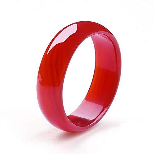 Mkxiaowei Leiblichen Kinder rot Achat Armband Jade Knochenmark Armband Kind Jade Armband Baby Armband Kristall transparent Art schöner (Jade-armband Für Baby)