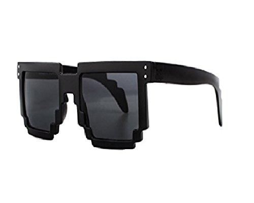 Pixel (Pixelbrille Sonnenbrille Pixelsonnenbrille Pixel Brille Pixelbrille schwarz getönt)