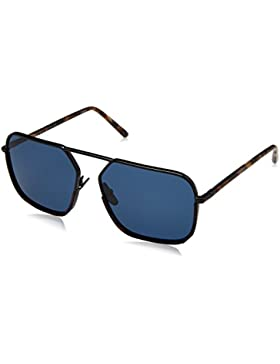 Dolce & Gabbana 0Dg2193J, Gafas de Sol para Hombre, Black/Blue Havana, 59