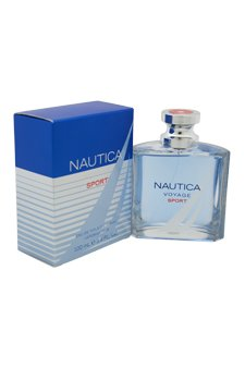 NAUTICA Voyage Sport Eau de Toilette Spray, 3.4 Fluid Ounce by Nautica