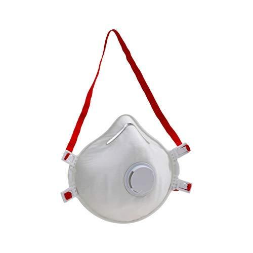 Maschera a forma di coppa FFP3 per polvere, particelle, protezione antivirus, coronavirus, influenza, ebola. 1 maschera
