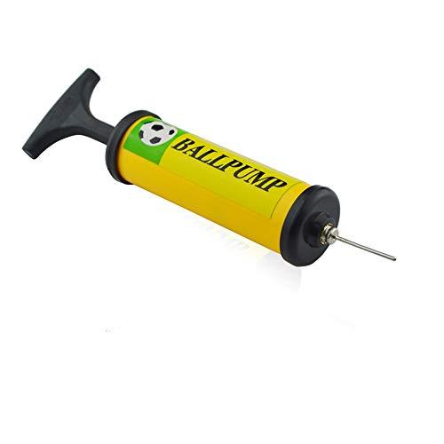 HUANSI Ball Inflator Pump Luftpumpe für Fußball, Rugby Ball, Volleyball, Basketball, Handball und andere aufblasbare Bälle