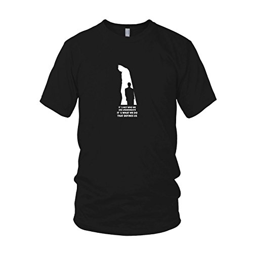 Definition of Dark - Herren T-Shirt, Größe: XL, Farbe: (Returns Knight Kostüme Batman Dark)