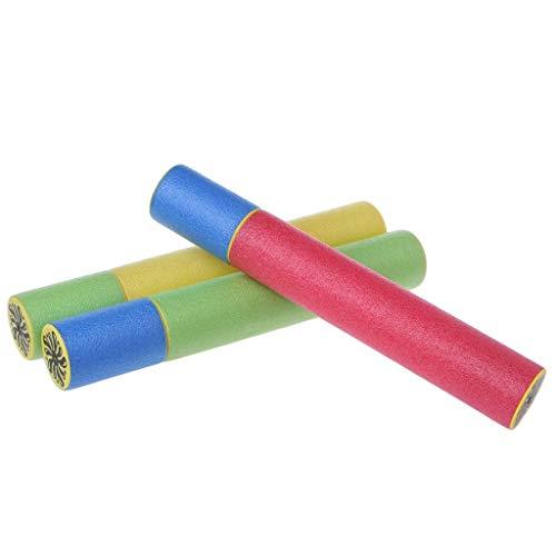 Vektenxi Premium-Qualität Schaumwasserpistole Wasserpistole Kinder Schwimmen Strand Badespielzeug, 1/3 PCS -