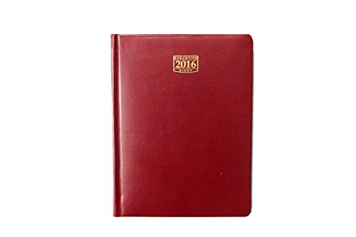 Asian 2017 Nescafe Diary with Sunday full page - B5, Hard Bound, 190 pages (Red)  available at amazon for Rs.399