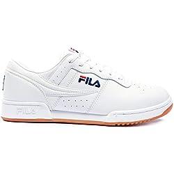 Fila Original Fitness 1vf80172-150, Zapatillas para Hombre, Blanco (White, 43 EU