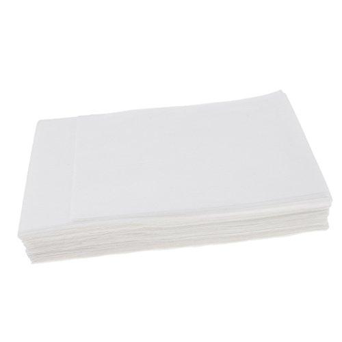 CUTICATE 10x Einweg Vliespapier Blatt Spa Salon Bed Table Cover Tattoo Versorgung 80 X 180 Cm - Weiß