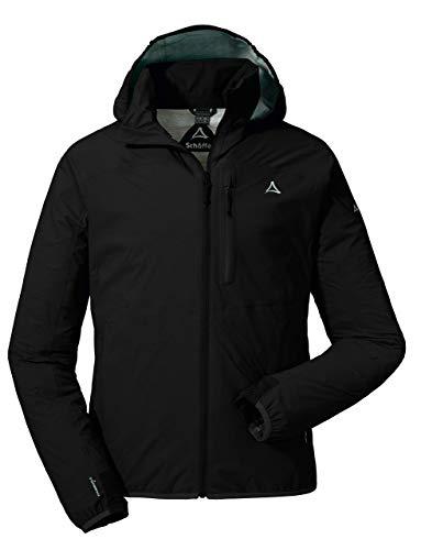 Schöffel Herren Jacket Toronto2 Jacken, schwarz (black), D48 (Herstellergröße: M) - Schwarze Herren-cape