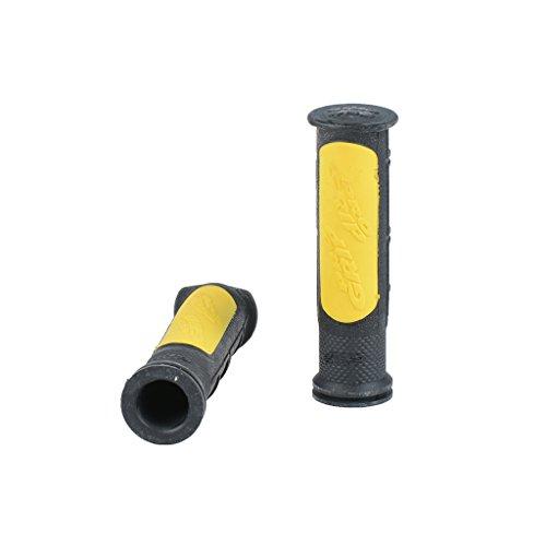 Preisvergleich Produktbild Griffe 796 schwarz / gelb 22 / 22 120 mm ATV Quad Polaris Scrambler 500 96-11