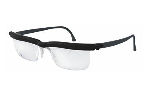 Adlens ViewPlus Brille Sehhilfe Lesebrille / schwarz / +2.75 Dioptrien