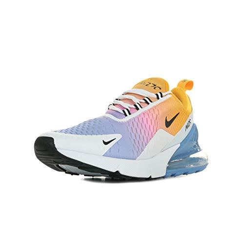 Nike Herren Air Max 270 Gymnastikschuhe, Gold/Black/Univ Blue/Psychic Pink/White/Football Grey 702, 44 EU